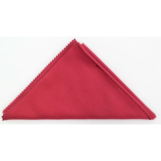 Törlőkendő 30×40 bordó